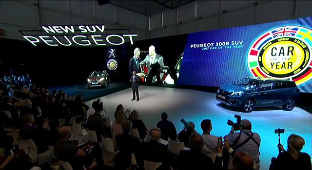 Vidéo : Conférence de presse Peugeot – Salon de Genève 2017