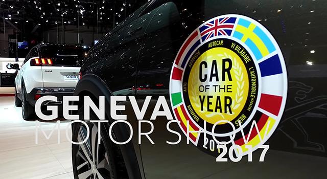 Vidéo : visite du stand Peugeot au Salon de Genève 2017