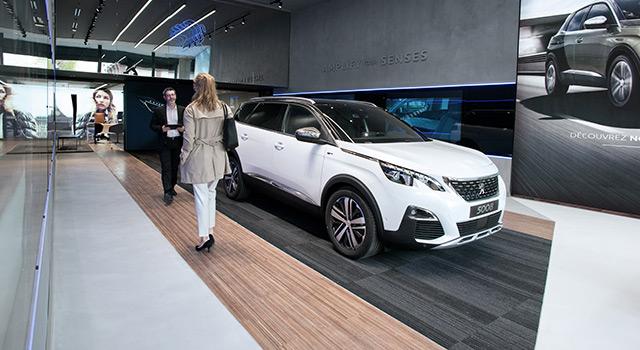 Une nouvelle génération de concession Peugeot en centre-ville !