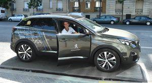 Une Peugeot 3008 autonome présentée à Roland-Garros !