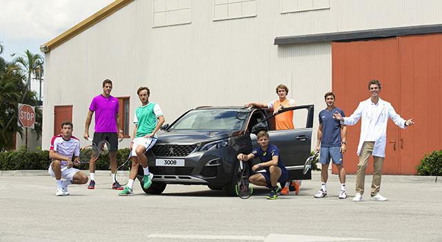Peugeot renforce son engagement dans l'univers du tennis