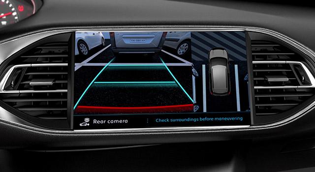 Présentation Caméra 360° Visiopark 1 Peugeot 308 restylée - Vidéo officielle (2017)
