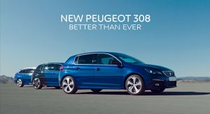 Publicité Peugeot 308 restylée - Film presse officiel (2017)