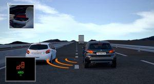 Présentation Système actif de Surveillance d'Angle Mort Peugeot 308 restylée - Vidéo officielle (2017)