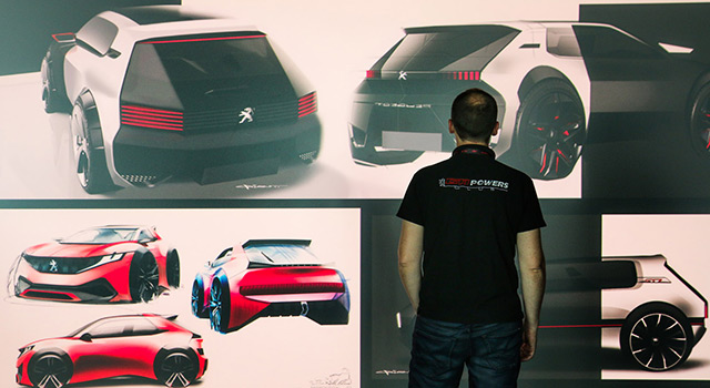 La Peugeot 205 GTI retourne sur les planches à dessin !