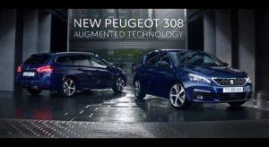 Publicité TV Peugeot 308 restylée – « Technologie augmentée » (2017)