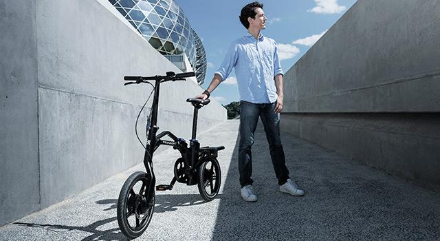 Peugeot eF01 : le nouveau vélo pliant à assistance électrique est disponible !