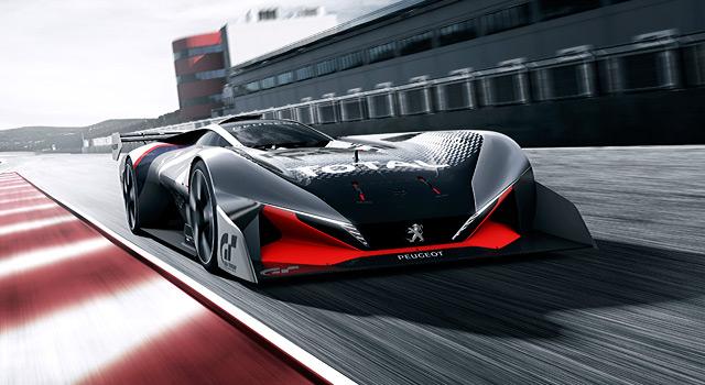 Gran Turismo Sport : Peugeot dévoile la L750 R HYbrid Vision Gran Turismo !
