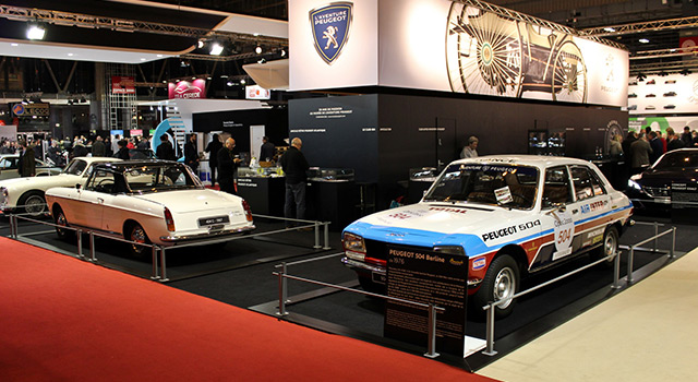 Photos : L'Aventure Peugeot au salon Rétromobile 2018