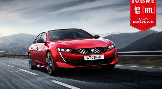 La nouvelle Peugeot 508 élue meilleure voiture de série du Salon de Genève 2018 !