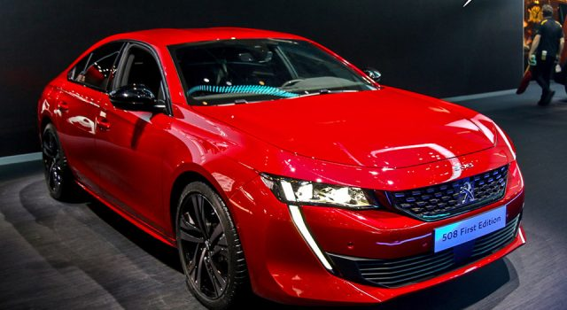 Photo Peugeot 508 - Salon de Genève 2018