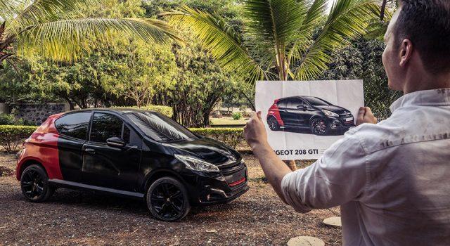 Vidéo : une Hindustan Ambassador devient... Une Peugeot 208 GTi !