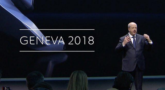 Vidéo : Conférence de presse Peugeot – Salon de Genève 2018