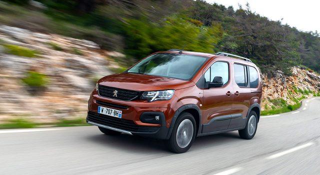 Photos officielles des essais du nouveau Peugeot Rifter