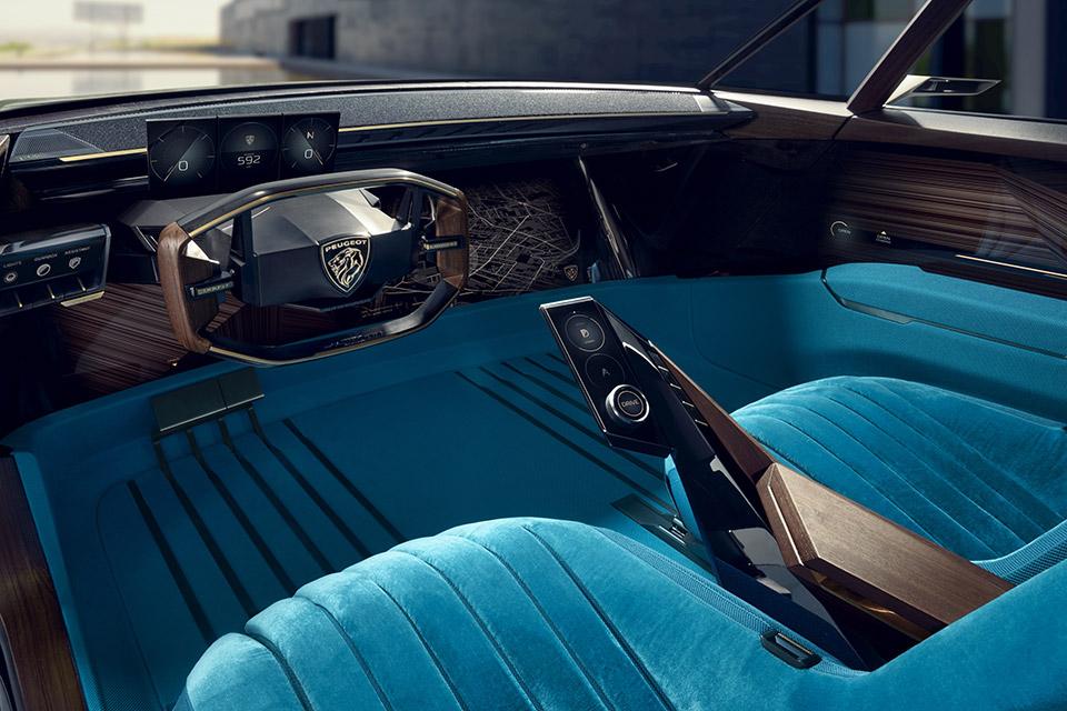 Photo intérieur Peugeot e-Legend Concept Car (2018)