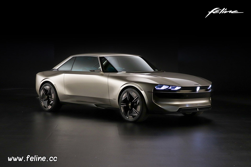 Photo studio Peugeot e-Legend Concept (2018)