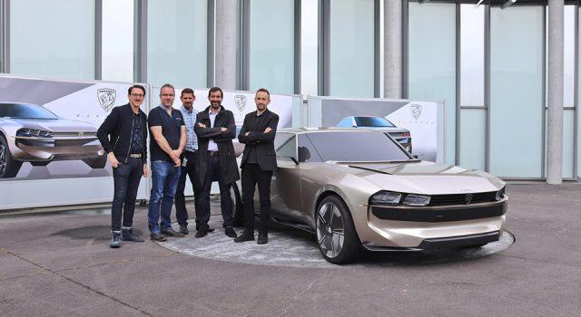 Photos : Peugeot e-Legend Concept, dans les coulisses du projet P18