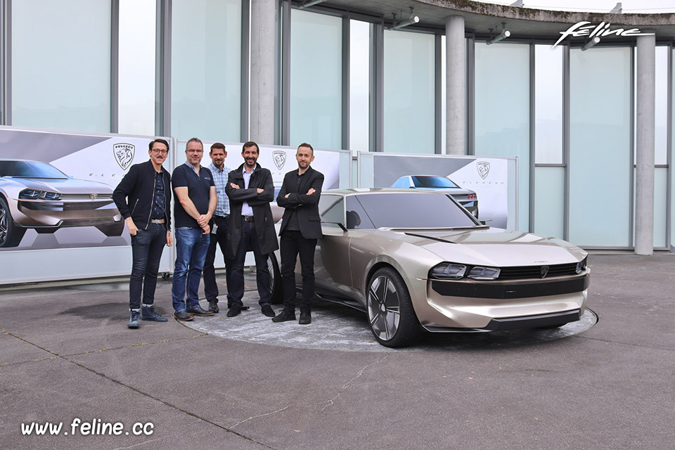 Photo Peugeot e-Legend Concept : dans les coulisses du projet P1