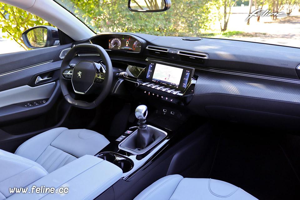 Photo design intérieur Peugeot 508 II BlueHDi 130 2018