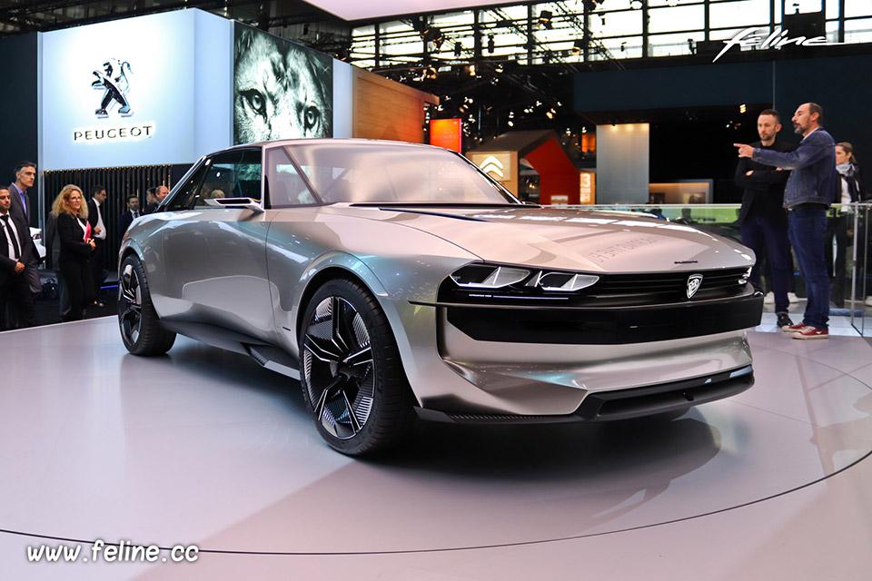 Photos Peugeot e-Legend Concept au Mondial de l'Auto de Paris 20