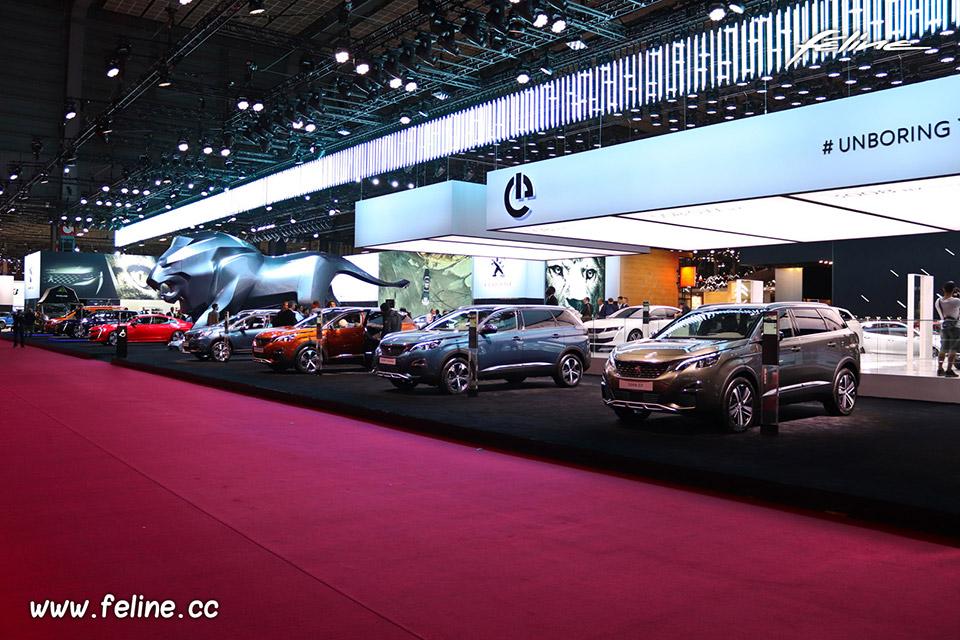 Photos stand Peugeot au Mondial de l'Auto de Paris 2018