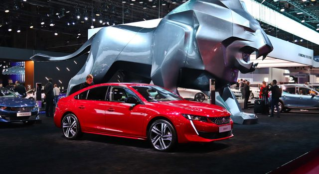 Photos : Peugeot au Mondial de l'Automobile de Paris 2018