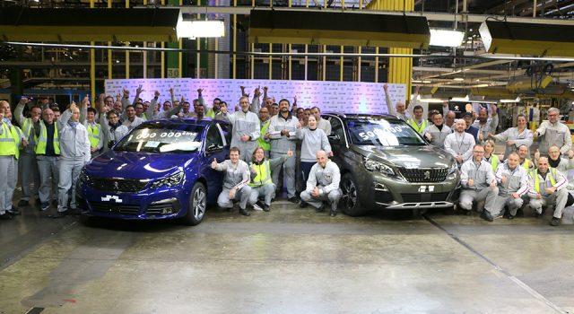 L'usine de Sochaux a produit 1 million de Peugeot 308 et 500.000 Peugeot 3008 !