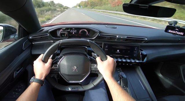 Vidéo : la nouvelle Peugeot 508 teste sa vitesse maxi sur autoroute !