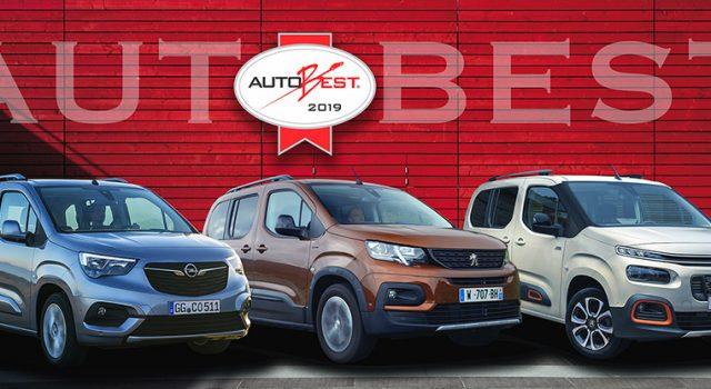 Le Peugeot Rifter reçoit le Prix Autobest 2019 «Best Buy Car of Europe» !