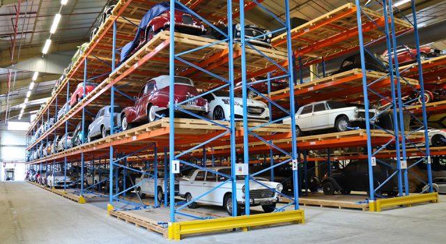 Photos : visite exclusive des réserves du Musée de l'Aventure Peugeot !