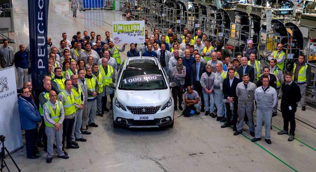 La millionième Peugeot 2008 a été fabriquée à Mulhouse !