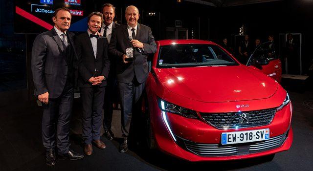 Les Peugeot 508 et Peugeot e-Legend Concept récompensés au Festival Automobile International !