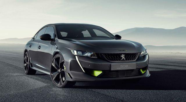 Peugeot lève le voile sur le concept 508 Peugeot Sport Engineer