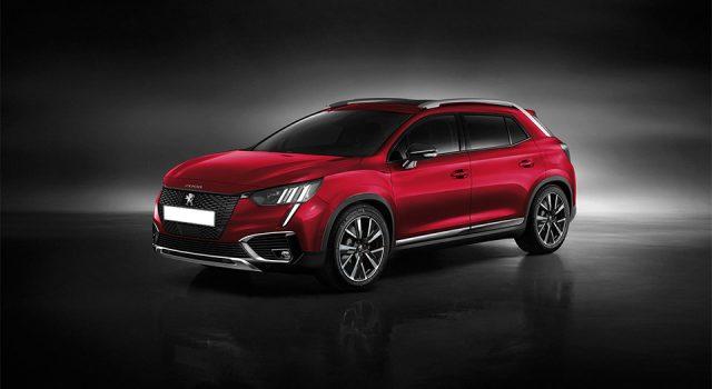 Illustrations : la future Peugeot 2008 II prévue pour 2020