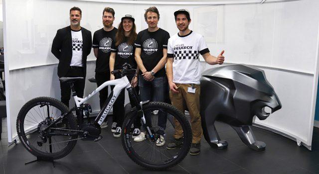 Peugeot Cycles est de retour en compétition de e-VTT !