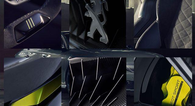 Photo teaser Concept Car 508 Peugeot Sport Engineered 2019
