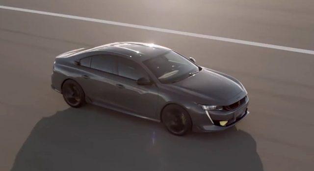Vidéo officielle 508 Peugeot Sport Engineered Concept (2019)