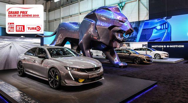 Meilleures Voitures du Salon de Genève 2019 : Peugeot doublement récompensée !