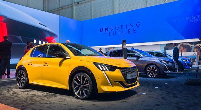 Photos : le stand Peugeot au Salon de Genève 2019