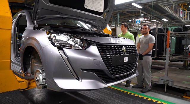 Vidéo : la production de la Peugeot 208 II à Trnava