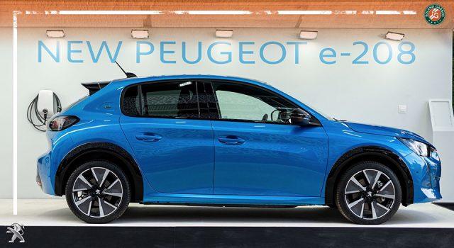 La nouvelle Peugeot 208 II présentée à Roland-Garros 2019