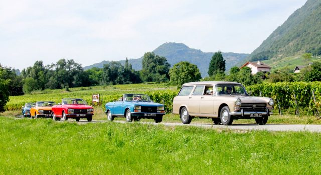 L'Aventure 04 : des balades et circuits avec de mythiques Peugeot des années 1970 et 80 !
