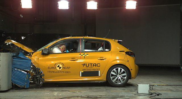 La nouvelle Peugeot 208 II décroche 4 étoiles au crash test Euro NCAP !