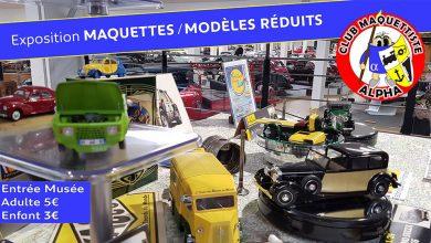 Exposition de maquettes et modèles réduits au Musée de l'Aventure Peugeot !