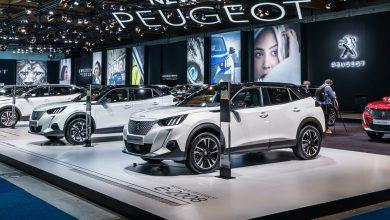 Peugeot au Salon de l'auto de Bruxelles 2020