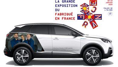 Fabriqué en France : la Peugeot 3008 HYbrid4 sera à l'Elysée ce week-end !