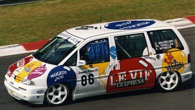 Vidéo : une Peugeot 806 aux 24 Heures de Spa 1995 !