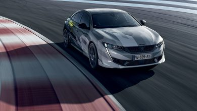 Photos : la 508 Peugeot Sport Engineered sur le circuit du Castellet !
