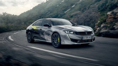 Photos : la 508 Peugeot Sport Engineered sur la route !