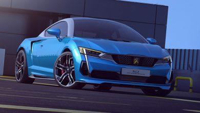 Illustrations : une nouvelle Peugeot RCZ imaginée par un design